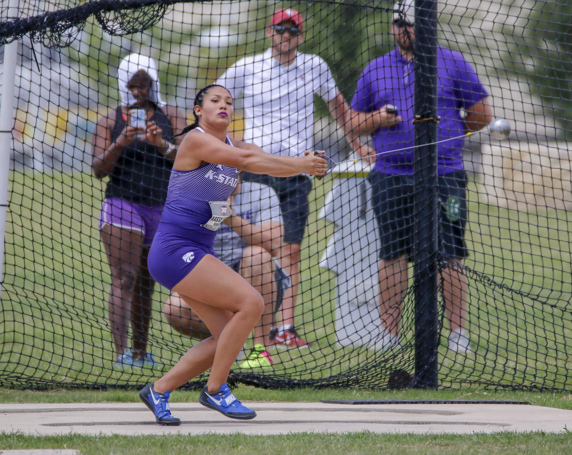 Kassanavoid Secures Second-Consecutive Big 12 Hammer Throw