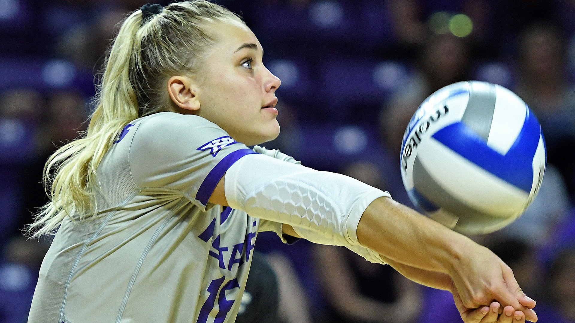 SE: Kuck Keeping K-State VB in Rallies with Relentless Digging Mentality