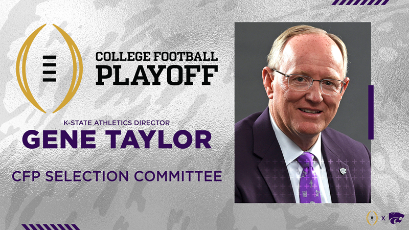 K-State AD Taylor Named to College Football Playoff Selection Committee - Kansas State University Athletics